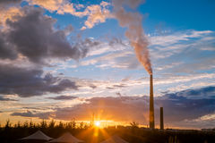 A nickel plant In Ontario, Canada Royalty Free Stock Images
