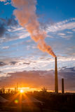 A nickel plant In Ontario, Canada Stock Images
