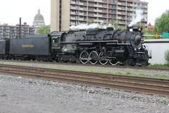 Nickel Plate Road 765 Steam Locomotive Stock Image