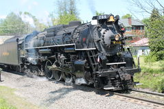 Nickel Plate Road 765 Steam Locomotive Stock Photo