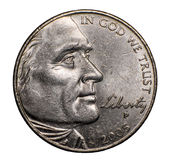 2005 Nickel Stock Photography