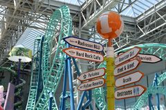 Nickelodeon Universe in Bloomington, Minnesota Royalty Free Stock Image