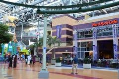 Nickelodeon Universe in Bloomington, Minnesota. Nickelodeon Universe at the Mall of America in Bloomington, Minnesota stock photo