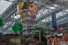 Nickelodeon Universe in Bloomington, Minnesota Royalty Free Stock Photos