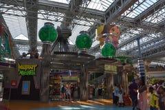 Nickelodeon Universe in Bloomington, Minnesota Stock Photo