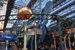 Nickelodeon Universe in Bloomington, Minnesota Stock Image