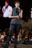 Nickhun (musikband 2PM) på den EquilibriumConcert Korea för mänsklig kultur festivalen i Vietnam Royaltyfria Foton