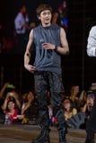 Nickhun (musikband 2PM) på den EquilibriumConcert Korea för mänsklig kultur festivalen i Vietnam Arkivfoton