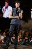 Nickhun (2PM band) at the Human Culture EquilibriumConcert Korea Festival in Viet Nam Royalty Free Stock Photos