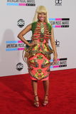Nicki Minaj. At the 2010 American Music Awards Arrivals, Nokia Theater, Los Angeles, CA. 11-21-10 Royalty Free Stock Images