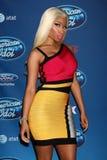 Nicki Minaj. LOS ANGELES - JAN 9:  Nicki Minaj attends the 'American Idol' Premiere Event at Royce Hall, UCLA on January 9, 2013 in Westwood, CA Royalty Free Stock Photos