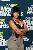 Nicki Minaj. At the 2011 MTV Movie Awards Press Room, Gibson Amphitheatre, Universal City, CA. 06-05-11 Stock Photos