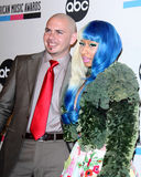 Nicki Minaj, Pitbull Stock Images