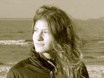 Nicky en el mar Imagenes de archivo