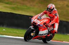 Nicky Haiden DUCATI MotoGP GP van de Kring van Mugello van Italië 2013 Stock Afbeeldingen