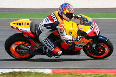 Nicky Hayden. USA, Repsol Honda Team 2008 Royalty Free Stock Image