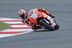 Nicky hayden, ducati, 2011, Royalty Free Stock Photography