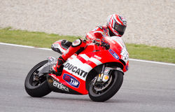 Nicky Hayden (Ducati) Stock Images
