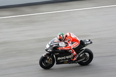 Nicky Hayden of Ducati Team Royalty Free Stock Images