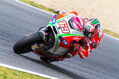 Nicky Hayden pilot of MotoGP Stock Photos