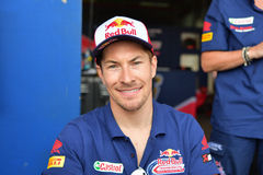 Nicky Hayden of USA Royalty Free Stock Photography