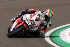 Nicky Hayden - USA Honda CBR1000RR SP Honda World Superbike Team Royalty Free Stock Photo