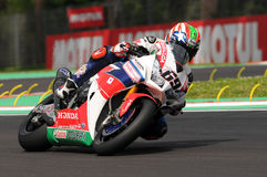 Nicky Hayden - USA Honda CBR1000RR SP Honda World Superbike Team Royalty Free Stock Images