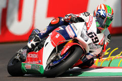 Nicky Hayden - USA Honda CBR1000RR SP Honda World Superbike Team Stock Images