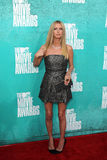 Nicky Hilton arriving at the 2012 MTV Movie Awards Royalty Free Stock Images
