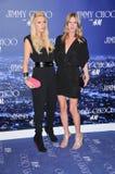 Nicky Hilton, Parijs Hilton Royalty-vrije Stock Foto's