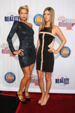 Nicky Hilton,Paris Hilton. Paris & Nicky Hilton arriving at the 2009 Fox Reality Channel Really Awards The Music Box at Fonda Theater Los Angeles,  CA October 13 Royalty Free Stock Photo