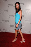 Nicky Hilton. At the Pret A PSP fashion show at the Pacific Design Centre, Los Angeles, to launch the PSP (Playstation Portable). March 14, 2005: Los Angeles Stock Image