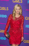 "Nicky Hilton. Stylish socialite Nicky Hilton arrives on the red carpet for the New York premiere of the third season of the hit HBO cable comedy ""Girls,"" at Stock Photography"