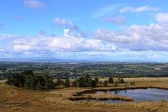 Nicky Nook à Lancaster et au secteur anglais de lac Photos libres de droits