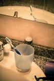 Único banheiro Foto de Stock Royalty Free