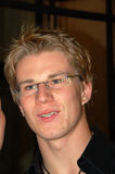 Nico Hulkenberg. F1 driver Nico Hulkenberg met his fans on July 31, 2010 in Budapest, Hungary Royalty Free Stock Image