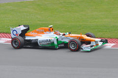 Nico Hulkenberg in 2012 F1 Canadian Grand Prix Royalty Free Stock Photography