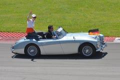Nico Hulkenberg in 2012 F1 kanadisches großartiges Prix lizenzfreies stockfoto