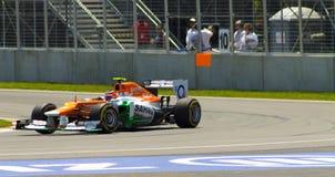 Nico Hulkenberg. Nico  Hulkenberg of Sahara Force India formula one team at the Montreal Grand Prix Stock Photo