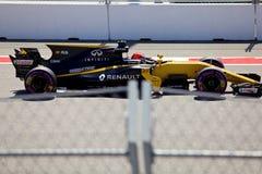 Nico Hulkenberg de Renault Sport Formule 1 Sotchi Russie Photo libre de droits