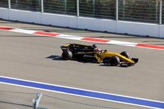 Nico Hulkenberg de Renault Sport Formule 1 Sotchi Russie Images stock