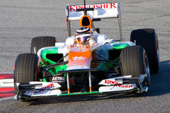 Nico Hulkenberg (Force India) Royalty Free Stock Photo
