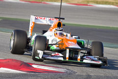 Nico Hulkenberg of Force India Stock Photography