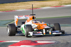 Nico Hulkenberg of Force India F1 Stock Photography