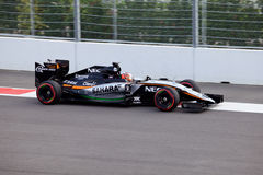 Nico Hulkenberg of Sahara Force India. Formula One. Sochi Russia Stock Images