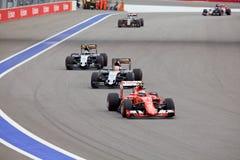 Nico Hulkenberg of Sahara Force India. Formula One. Sochi Russia Stock Photos