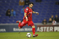Nico Pareja of Sevilla FC Stock Photos