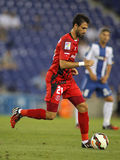 Nico Pareja of Sevilla FC Royalty Free Stock Images
