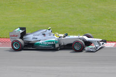 Nico Rosberg in 2012 F1 Canadian Grand Prix Royalty Free Stock Photo