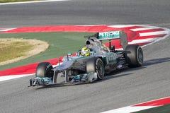 Nico Rosberg av Mercedes Royaltyfri Fotografi